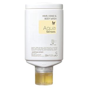 Żel do mycia rąk, włosów i ciała (3 w 1) Aqua Senses 300ml (press + wash)