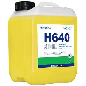 Voigt H640 - Mycie podłóg w przemyśle spożywczym