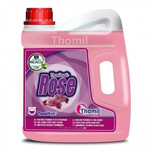 Zmiękczający Różany płyn do płukania tkanin